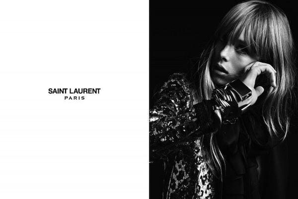Inspiration: Black, Gold and Saint Laurent