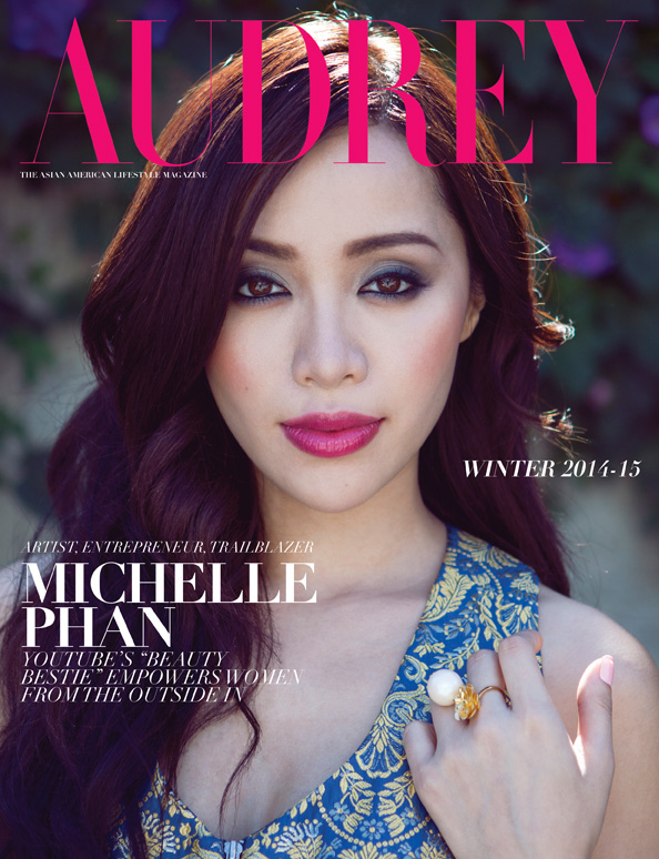 Michelle Phan on the Cover of Audrey Magazine