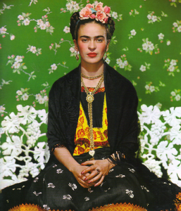 Frida Kahlo at the New York Botanical Garden
