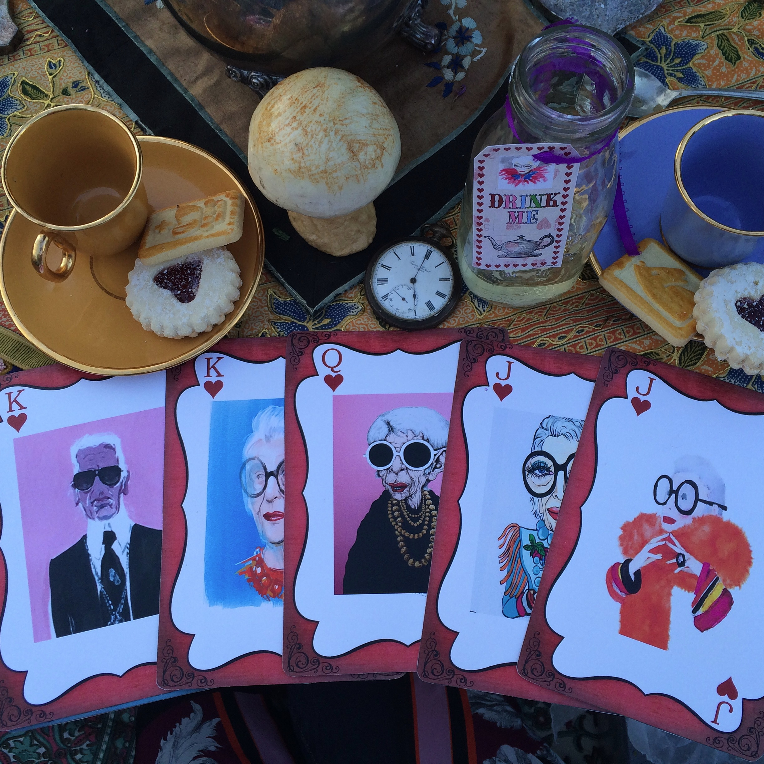 """Iris Apfel in Wonderland"" Picnic Contest and Screening"