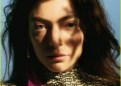 Lorde in Fashion Magazine October 2017