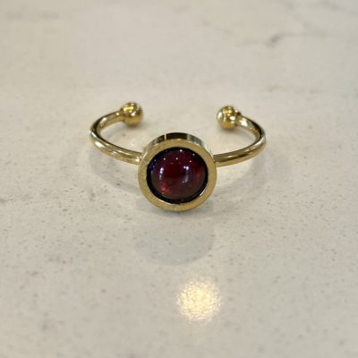Haarstick's Red Garnet Ring